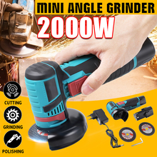 Power-Tools Polisher Grinder-Cutter Cutting-Machine Lithium-Battery Angle Cordless Rechargeable