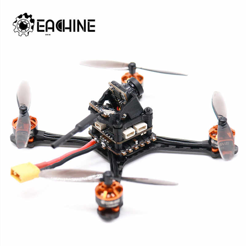 Eachine Tyro69 105mm F4 OSD 2.5 pouces 2-3S bricolage FPV course Drone PNP w/Caddx coccinelle V2 1200TVL caméra Support SmartAudio