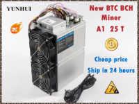Nuevo minero BTC BCH amor núcleo A1 minero Aixin A1 25T con PSU económico que Antminer S9 S11 S15 S17 T9 + T15 T17 WhatsMiner M3X M10