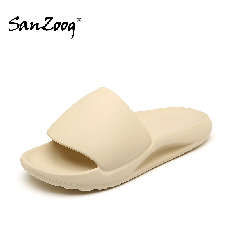 Plus Size 48 Light Summer Shower Indoor Men Slides Slippers House Home Slide Slipper Outdoor Beach Slipers Shoes Dropshipping