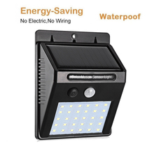 30/40 LED Outdoor Solar Wall Lamp PIR Motion Sensor Waterproof Light Garden Light Path Emergency Security spot flood pendant new 10w pir motion sensor led spot lighting solar powered panel outdoor garden path wall lights flood led emergency lamp luminaria