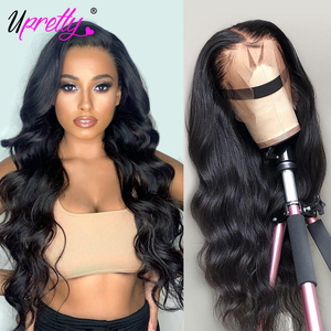 Mscoco Hair Body Wave Wig Transparent Lace Frontal Wig Pre Plucked Lace Closure Wig 200 250 Density Lace Front Human Hair Wigs(China)