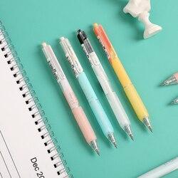 1pc 0.5mm 0.38mm Cute Rabbit Black Ink Gel Pen Cute Neutral Pen High-quality Straight Liquid Pen Kawaii School Support
