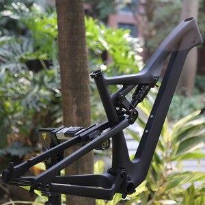 Image 5 - 29/27.5 بوصة AM/XC/FR/إندورو الصليب السفر دراجة جبلية الإطار ل BB92 148 مللي متر * 12 مللي متر الجبلية الكربون دفعة Twinloc إطارات الدراجة ماتي