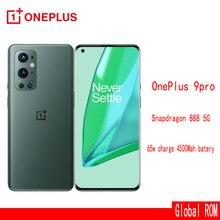 Oneplus 9 pro 5gglobal rom smartphone 8gb 128gb snapdragon 888 120hz display fluido 2.0 hasselblad 50mp ultra-amplo
