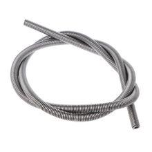 1Pcs 7mm Dia 792mm Long 3000W AC220V FeCrAl Kilns Furnaces Casting Heating Element Coil Silver Tone Coil Heater