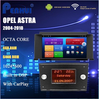 Android Car DVD For Opel Astra H ( 2004-2011) Car Radio Multimedia Video Player Navigation GPS Android 10.0 Double DIn