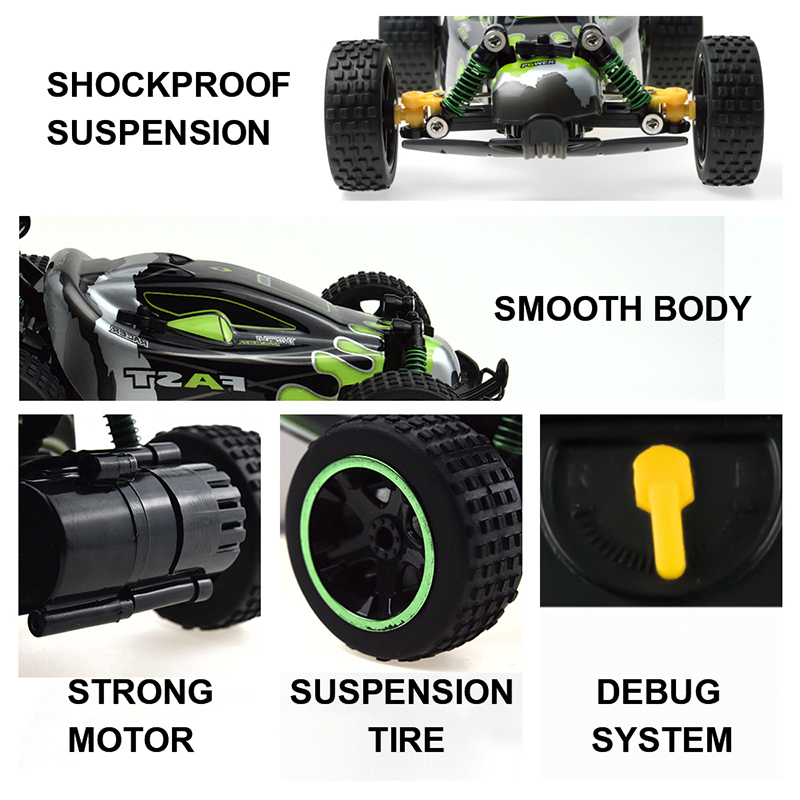 Sinovan RC Car 20km/h High Speed Car Radio Controled Machine Remote Control Car Toys For Children Kids RC Drift wltoys