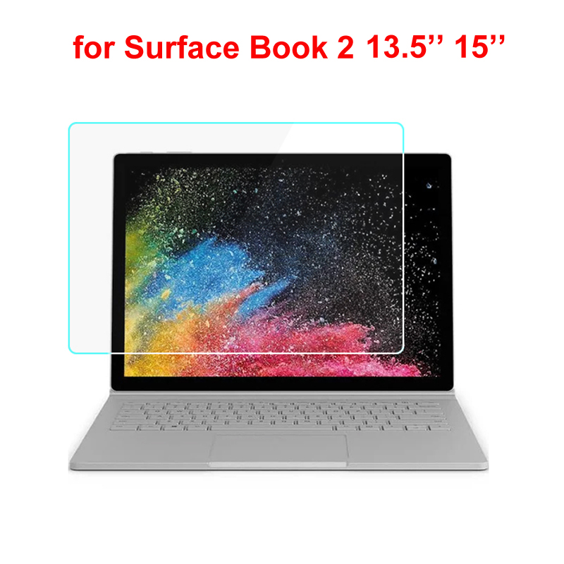 Tempered Glass For Microsoft Surface Book 2 13.5 15 Inch Screen Protector For Surface Book Glass Accessories