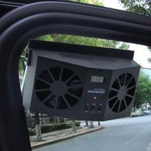 2W car solar exhaust fan solar car exhaust fan car solar cooling artifact Exhaust Heat Exhaust Fan durable