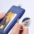 Из искусственной кожи креативный держатель для карт сотрудник ID карты Именные Бирки работы сертификат значок Бизнес Чехол кошелек для моне...