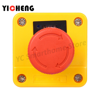 E-stop Push button emergency stop switch button box one normally open and one normally closed optimized button tact switch limit switch xce 110 direct acting 1p one normally open and one normally closed