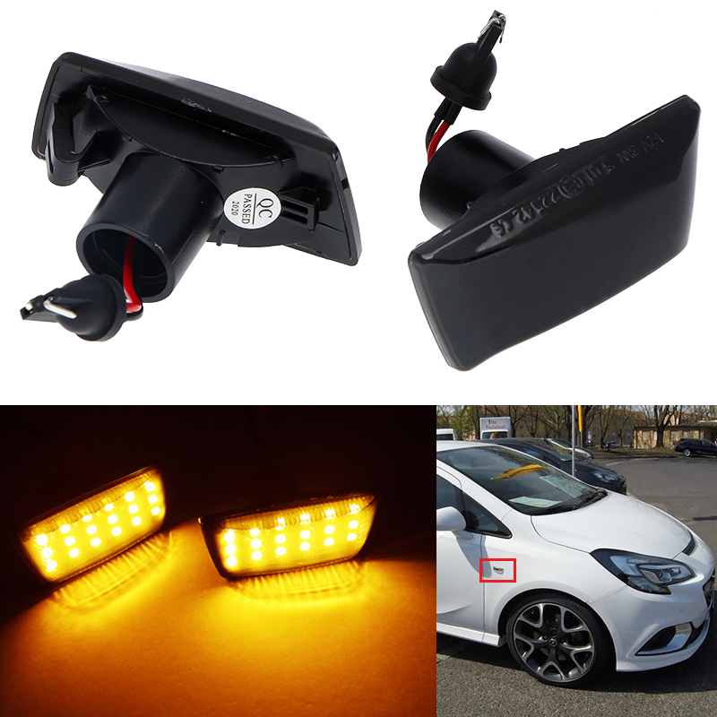 Astra Corsa Meriva Side Indicator Repeater Light Lamp Right 1713424