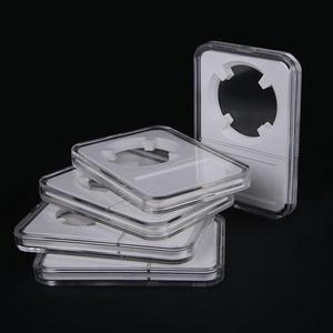 1 шт., 40 мм, модная белая коробка для хранения монет, чехол, протектор, PCGS, качественная коробка, NGC, коллекция, PCCB, защита, высокое качество, Q2Q3