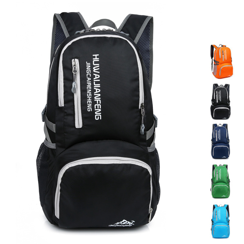 35L Ultra-light Collapsible Backpack Large Capacity Waterproof Hiking Travel Bag