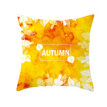 Lychee DIY Living Coral Series Pillow Cases Colorful Polyester Peachskin 45x45cm For Bedroom Home Office