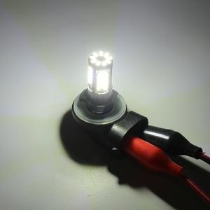 Image 4 - Q8 серии 2 предмета светодиодный фонарь светильник лампочка 9005 9006 880 881 5202 H16EU H7 H11 H16JP супер яркий белый 6500 к авто дальнего света ходовой огонь