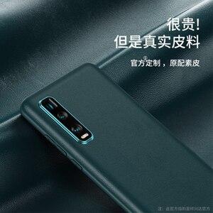 Image 5 - Original PU Leder Telefon Fall für OPPO Finden X2 Fall Ultradünne Schlank Schützende Haut OPPO Finden X2 Pro FindX2 Protector abdeckung