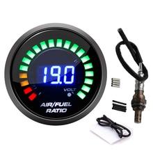 52mm Air Fuel Ratio Gauge Narrowband O2 Oxygen Sensor For Honda for ACURA INTEGRA ASUNA 234 4209 2344209 Digital Racing Gauge