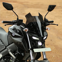 for Yamaha mt 15 motorcycle accessories windshield for Yamaha MT 15 mt15 2019-2020 windscreen windscreen wind deflector black motorcycle motorbike windshield double bubble windscreen wind deflectors air flow for honda cbr1000rr cbr 1000rr 2004 2007