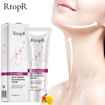RtopR Hyaluronic Acid Neck Firming Cream Anti-Wrinkle Whitening Moisture Neck Care Product Repair Fine Line Neck Skin Care