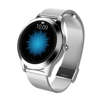 IP68 Waterproof Smart Watch Women Lovely Bracelet Heart Rate Monitor Sleep Monitoring Smartwatch Connect IOS Android KW10 band 9
