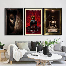 G377 Art Decor Classic Horror Movie Series Annabelle Wall Art Canvas Painting Silk Poster