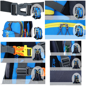 Image 4 - Men 40L unisex waterproof backpack travel pack  Hiking sports bag pack Outdoor Climbing Mountaineering Camping backpack for male