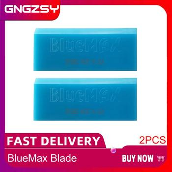 2pcs BLUEMAX Rubber Scraper Window Squeegee Blade Glass Cleaner Vinyl Tint Tools Sticker Remover Car Cleaning Accessories B02 image