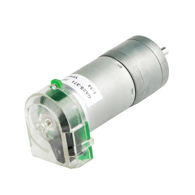 JGA25-371 Geared Motor High Precision Encoder Speed Measurement Smart Car 360CPR For Balance Car