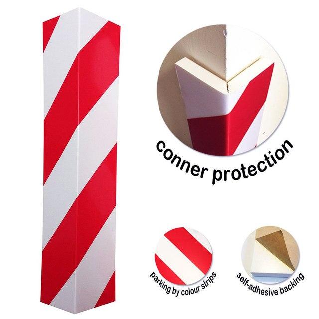 Garage Wall Protector Foam Wall Corner Guard for Parking Garage Wall Edge Protector Protect Your Car Anti Scratch Adhesive Foam