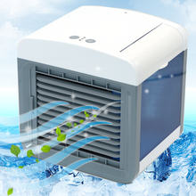 Air Cooler Fan Air Conditioner Humidifier Cooling Fan Mini USB Portable Desk Table Dropshipping 10 15 days Arrive in USA EU FA
