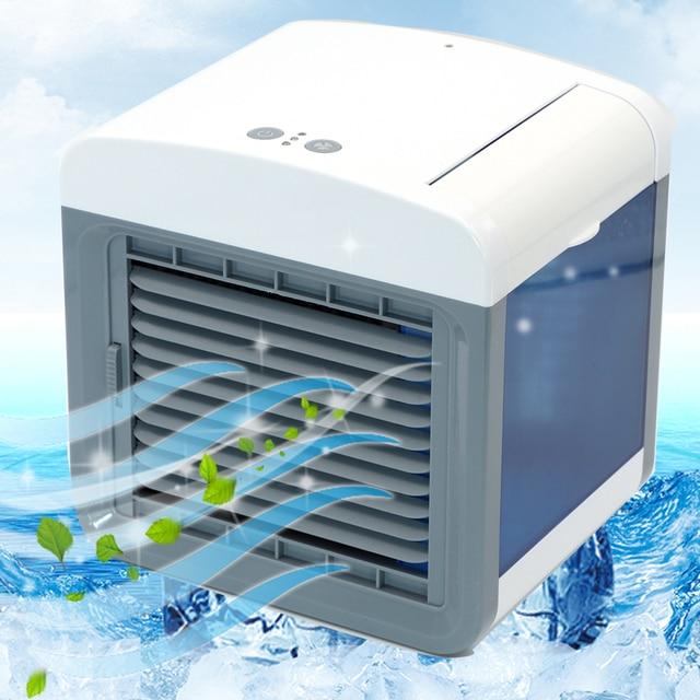 Ventilador enfriador de aire acondicionado humidificador ventilador de enfriamiento Mini USB mesa de escritorio portátil Dropshipping 10 15 días llegar a EE. UU. UE FA