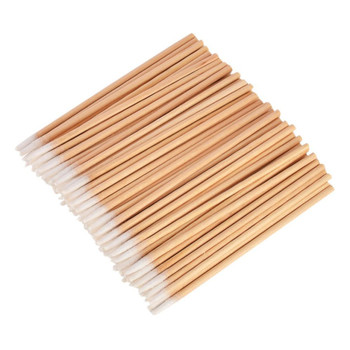 Tattoo accesories 100Pcs Microblading Micro Brushes Swab Lint Free Cleaning Brushes
