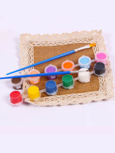 Pigment-Set Painting Clothing Textile-Fabric Acrylic-Paint Drawing Hand-Painted-Wall