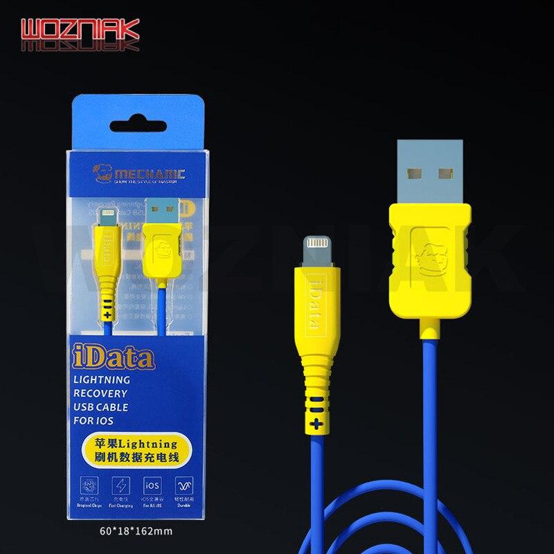 MECHANIC IData Lightning DFU Recovery Charging Data Transmission USB Cable For IOS Iphone Ipad Ipod