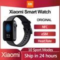 Xiaomi Uhr MI Smart Uhr GPS NFC WIFI ESIM Anruf Android Armbanduhr Antwort Bluetooth Fitness Herzfrequenz-Monitor Tracker