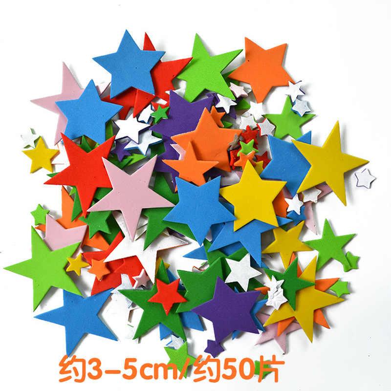 Learning Wooden 100Pcs//bag Children Scrapbooking Mini Sticker Mixed 3D Letter