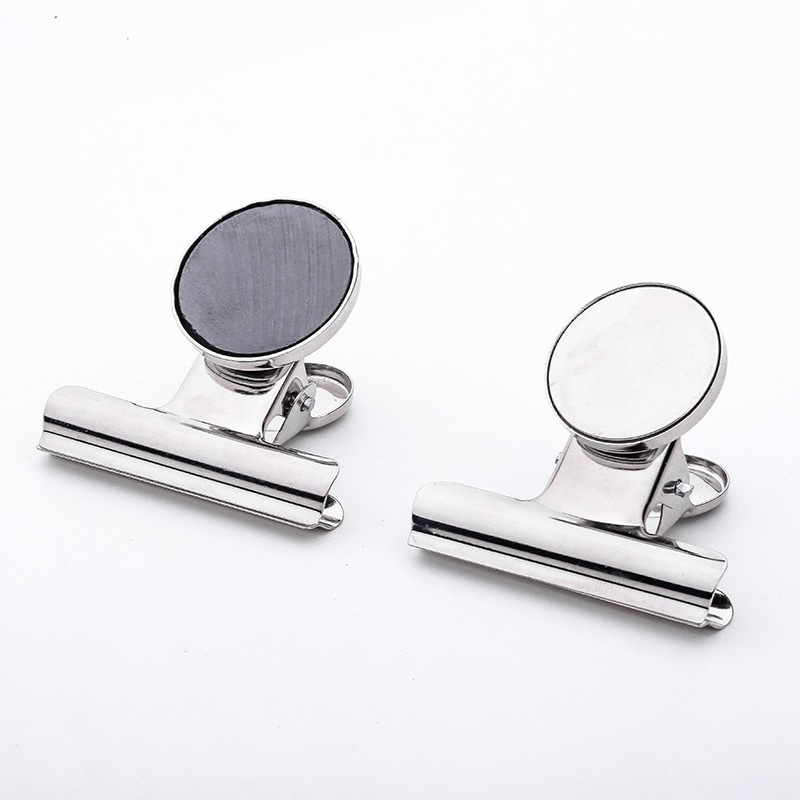 Zhi You Currently Available Supply High Quality Stainless Steel Round-Toe 31 Size Metal Magnet Clip Household Strong Refridgerat