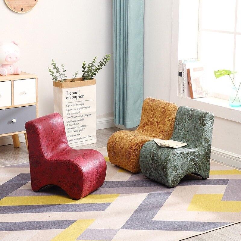 Children Stool Household Bench Sofa Small Kids Footstool Animal  Cartoon Modeling Wood Cute Taburete Madera Ergonomic Chair