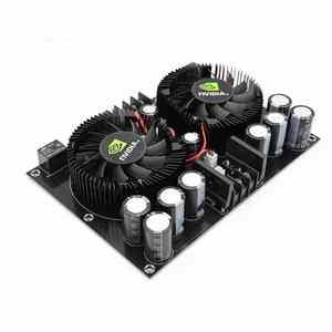 Image 5 - Amplificador Digital estéreo de dos canales, alta potencia, 100W + 100W, TDA7293, XH A132 de audio para cine en casa