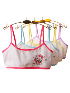 Puberty-Clothing Teenage Underwear Training-Bras Styles Young-Girls Teens Kids Cotton