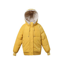 Winter Cotton Clothing Women Short Paragraph Small Down Jacket Loose Bread Clothes Large Size Coat Students Winter Coat(China)