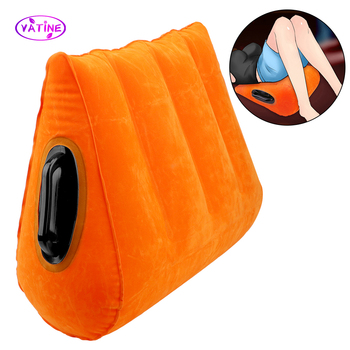 VATINE Sex Pillow Inflatable Sex Furniture Sex Tools For Couples Erotic Toys Adult Toy Women Men Sex toyer Games Sofa Sex Shop inflatable sex furniture triangle sex magic pillow erotic product sex cushion sofa adult couples games stimulate sex toys