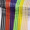 10 мм 100 пар самоклеющиеся волшебные наклейки крепежная лента цветная точка наклейка s сильный клей крюк и петля волшебная лента круглая