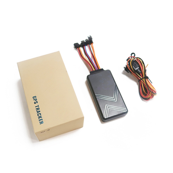 GT01 2g/3g/4g Car Vehicle ACC Remote Engine/Oil Cut off GPS tracker with SOS button image