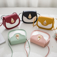 A new fashion female saddle bag 5 colors for 2019 PU small with single-shoulder cross-body style Drip metal lock girl bags