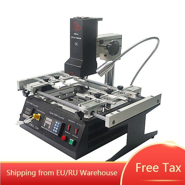 Station de reprise infrarouge BGA 2300W IR6500 V.2 machine à souder pour la réparation de puce
