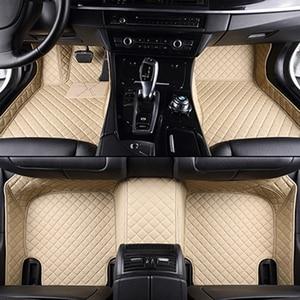 Image 2 - High quality leather car floor mat for hyundai SOLARIS CRETA ix35 TUCSON ELANTRA SONATA i30 i40 Santa Fe carpet alfombra astra h