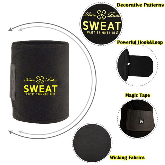 Miss Moly Shaper Waist Trainer Trimmer Latex Rubber Belt Body Shaper Neoprene Waist Belt Sweat Premium Waist Cincher Fajas 2